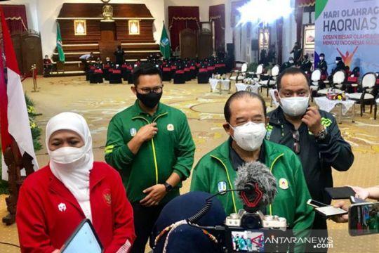 KONI minta restu warga Jawa Timur