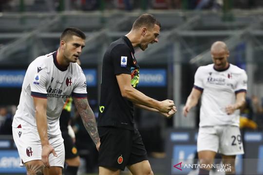 Inter kembali ke jalur kemenangan saat gulung Bologna 6-1