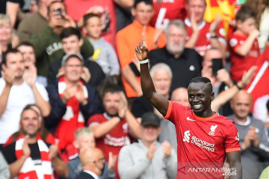 Klopp sanjung Sadio Mane setelah Liverpool atasi Crystal Palace