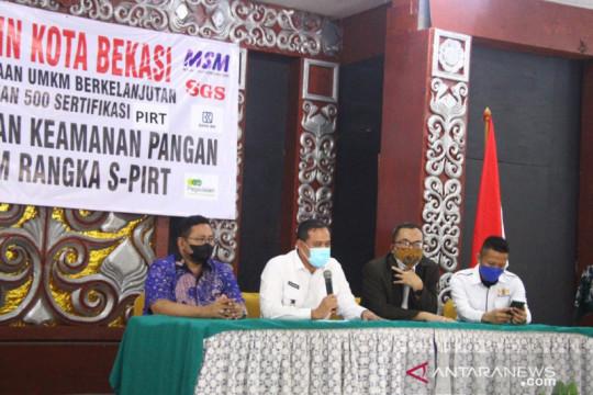 500 pelaku UMKM Bekasi ikuti pelatihan produk pangan