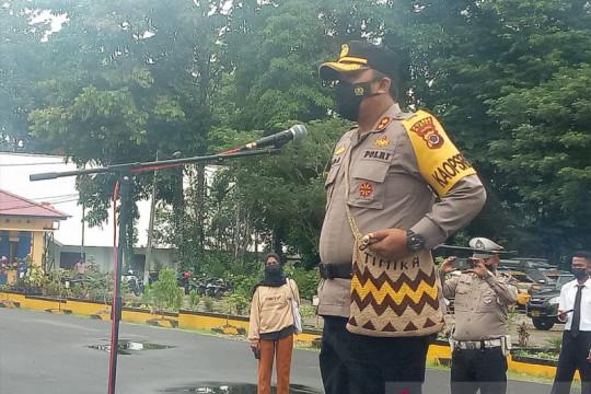 Polri-TNI perketat pengamanan di Kuala Kencana saat lomba marathon