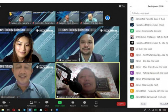 BPJS Kesehatan umumkan pemenang kompetisi Hackathon 2021