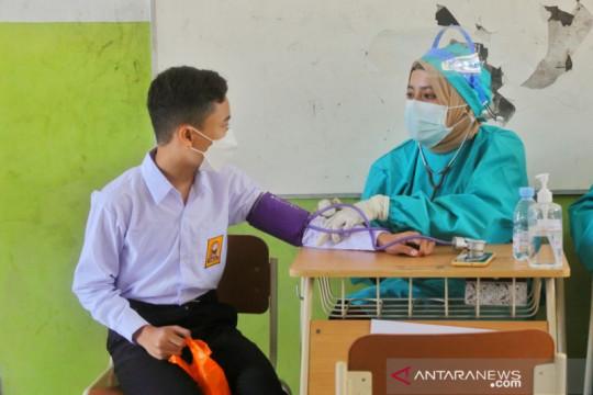 Kota Bandung berusaha mempercepat penuntasan vaksinasi remaja