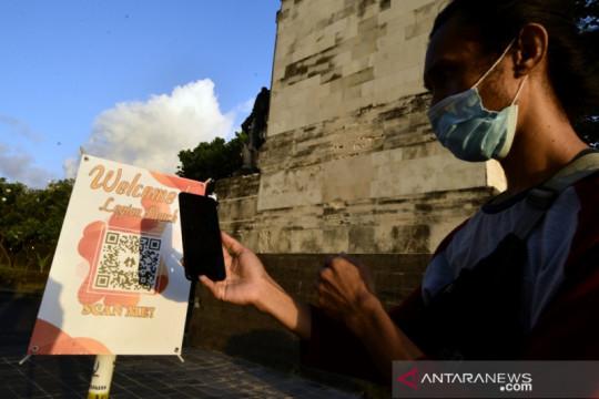 Pengelola Pantai Legian-Bali luncurkan sistem QR Code bagi wisatawan