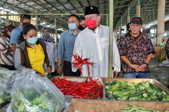 Ketua DPD minta vaksinasi pedagang pasar jadi prioritas