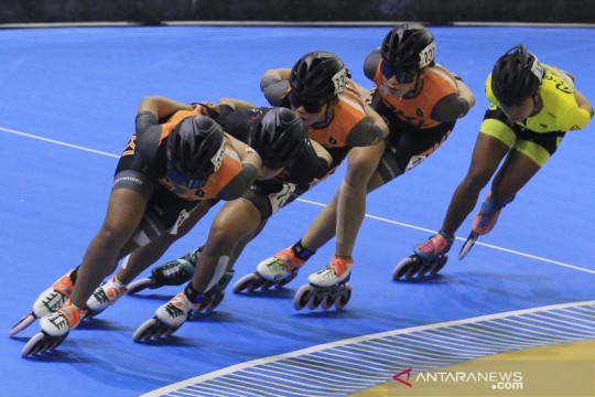 Sebanyak 89 atlet sepatu roda dari 16 provinsi bersaing di PON Papua