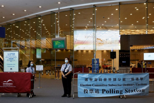 Hong Kong gelar pemilihan 1.500 anggota Komite Pemilu