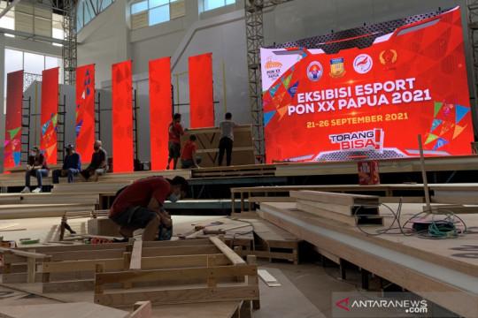 Mengintip arena pertandingan esport PON Papua