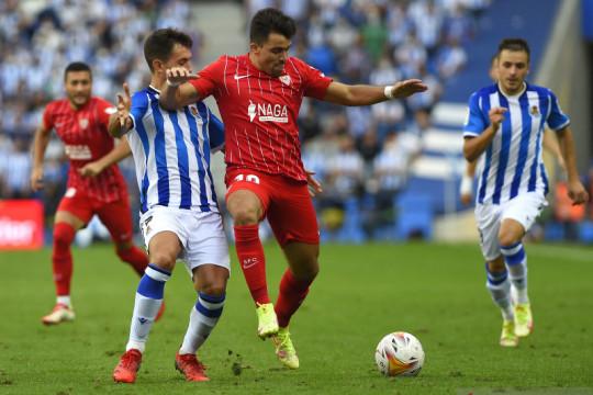 Sevilla jegal ambisi Sociedad ke puncak klasemen