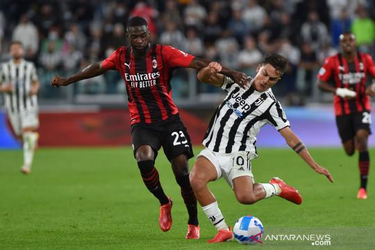 Liga Italia : Milan tahan Juve 1-1 di Turin