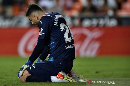 Dua gol Madrid di penghujung laga pupuskan kemenangan Valencia