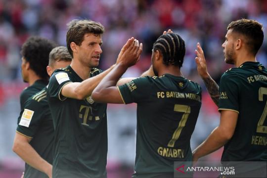 Klasemen Liga Jerman: Frankfurt bantu Bayern duduki puncak