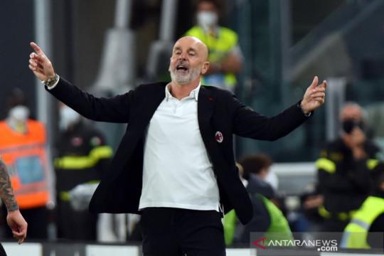 Pioli merasa laga Juventus vs AC Milan cuma berlangsung 48 menit