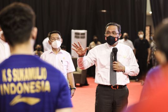 PBSI gelar pelepasan timnas Piala Sudirman dan Thomas-Uber