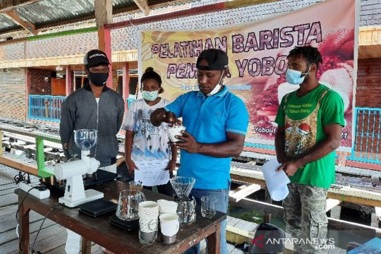Kopi pakai air kelapa, potensi menu unik kopi Jayapura