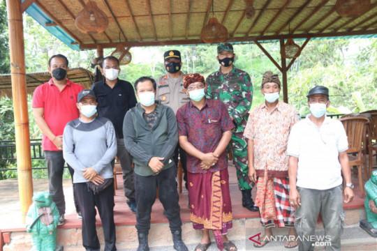 Bupati Bangli buka kembali wisata air terjun Tukad Cepung Bali