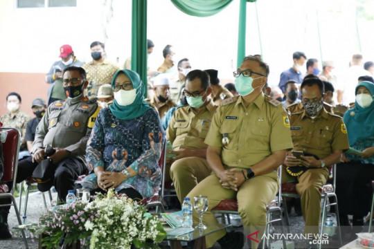 Bupati Bogor tinjau pekerjaan Satu Miliar Satu Desa di Nanggung