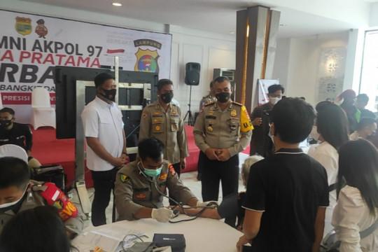 Akpol 97 Wira Pratama menggelar serbuan vaksin dan baksos
