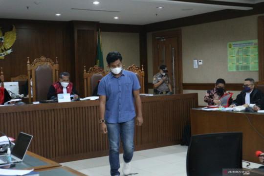 Saksi ungkap pertemuan mantan penyidik KPK dengan Azis Syamsuddin