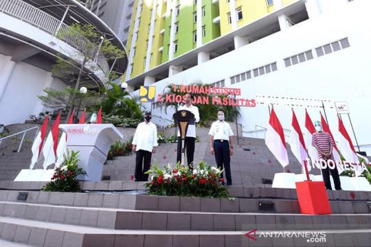 DKI kemarin, peresmian Rusun Pasar Rumput hingga Operasi Patuh Jaya