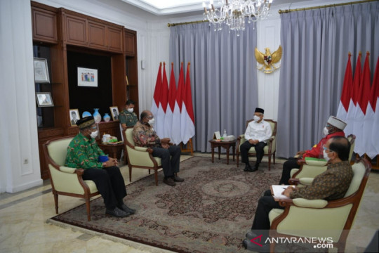 Wapres tekankan dua pendekatan untuk Papua dan Papua Barat