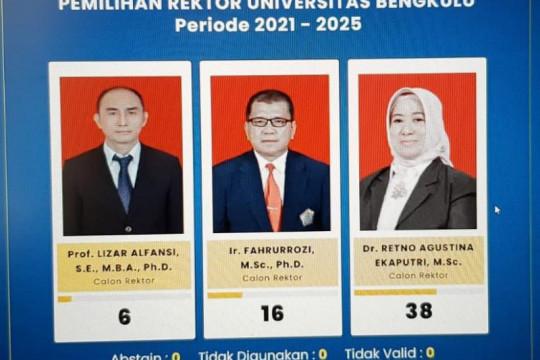 Retno Agustina perempuan pertama rektor Universitas Bengkulu