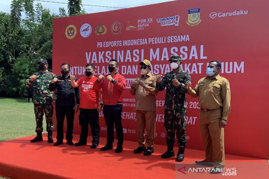 PB ESI gelar vaksinasi jelang pertandingan PON Papua