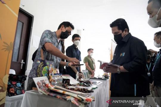 Erick Thohir semangati UMKM Bali agar bersiap diri bangkit pascaCOVID
