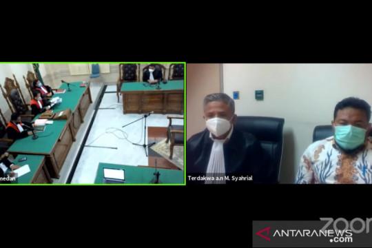 Wali Kota Tanjungbalai M Syahrial divonis 2 tahun penjara
