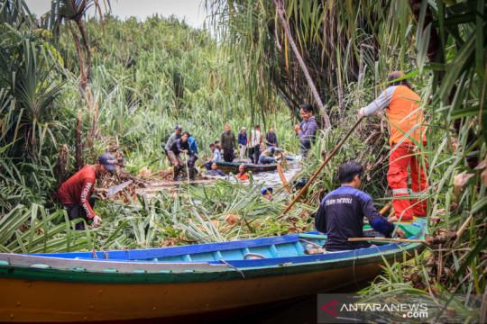 Jalur patroli kebakaran hutan dan lahan di Sebangau dibersihkan