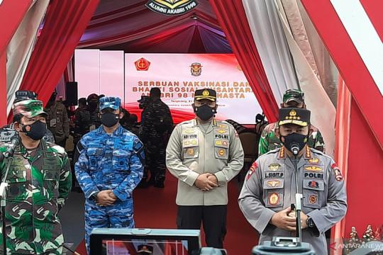 Kapolri Listyo klaim kasus COVID-19 di Indonesia melandai