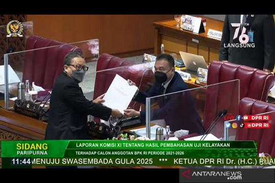 DPR RI ketok palu, setujui Nyoman Adhi Suryadnyana jadi anggota BPK
