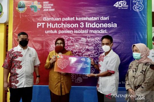 3 Indonesia salurkan obat-obatan untuk pasien isoman