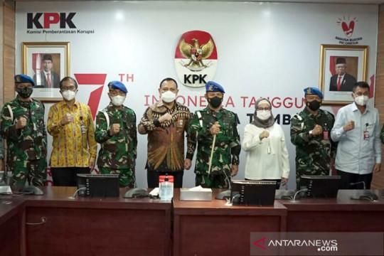 KPK-Puspom TNI perkuat koordinasi pemberantasan korupsi