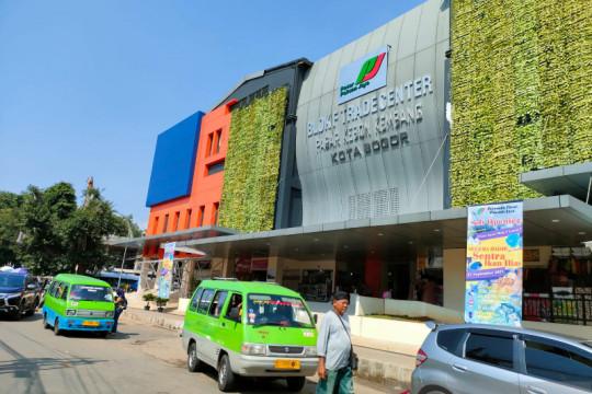Pasar di Kota Bogor masih sepi