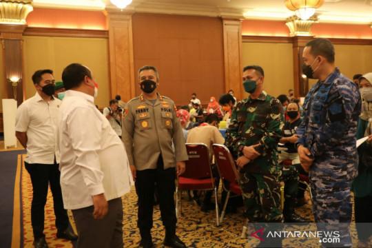 Alumni Akabri 1998 gelar vaksinasi di Kota Bogor