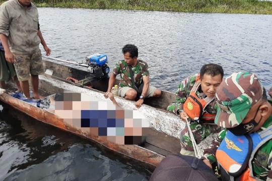 SAR gabungan evakuasi dua jenazah long boat terbalik di Merauke