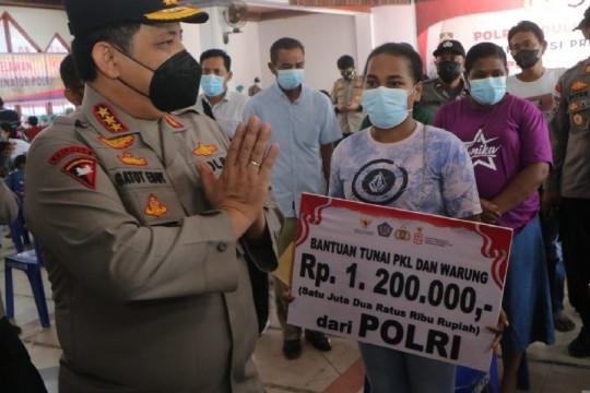 Waka Polri kunjungi Gerai Vaksinasi Presisi di Jayapura