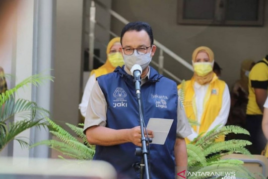 Anies ingatkan warga jalankan prokes kendati pandemi sudah terkendali