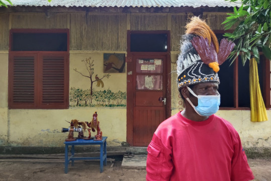 "Daniel Tanoy bawa ""cendrawasih ramah lingkungan"" ke PON XX Papua"