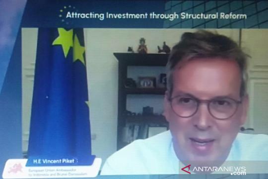 Dubes EU: Investor Eropa lihat Indonesia sangat menjanjikan