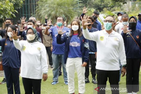 Bupati Bogor lepas 83 atlet menuju PON XX Papua