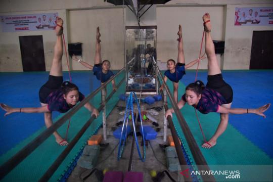 Atlet senam Sumut berlatih jelang PON Papua