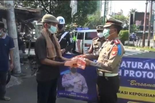Polisi ingatkan protokol kesehatan dalam Operasi Patuh Jaya 2021