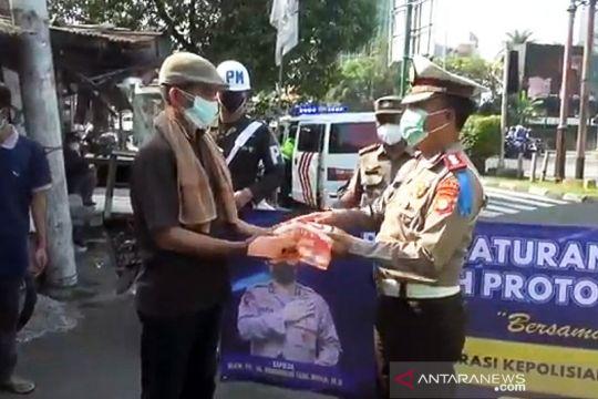 Polisi tilang 2.560 kendaraan pada hari pertama Operasi Patuh Jaya