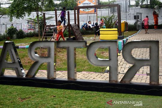 Pembukaan taman kota di Jaksel tunggu keputusan Pemprov