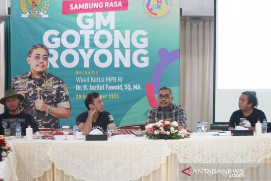 Wakil Ketua MPR RI gagas gerakan Serikat Rakyat Gotong Royong