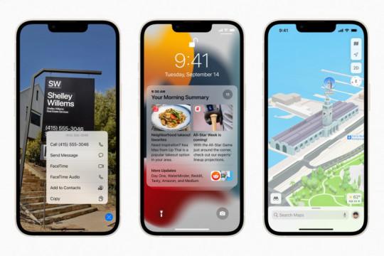Sederet pembaruan di iOS 15