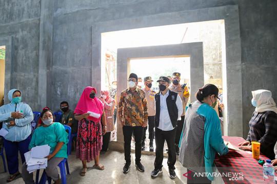 Vaksinasi aglomerasi targetkan Surabaya Raya masuk PPKM Level 1
