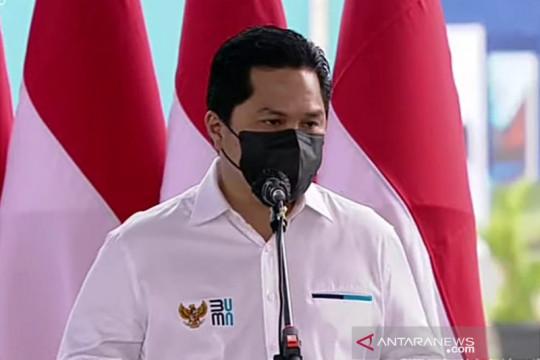 Erick: Pabrik HMS 2 Krakatau Steel buat industri baja lebih kompetitif
